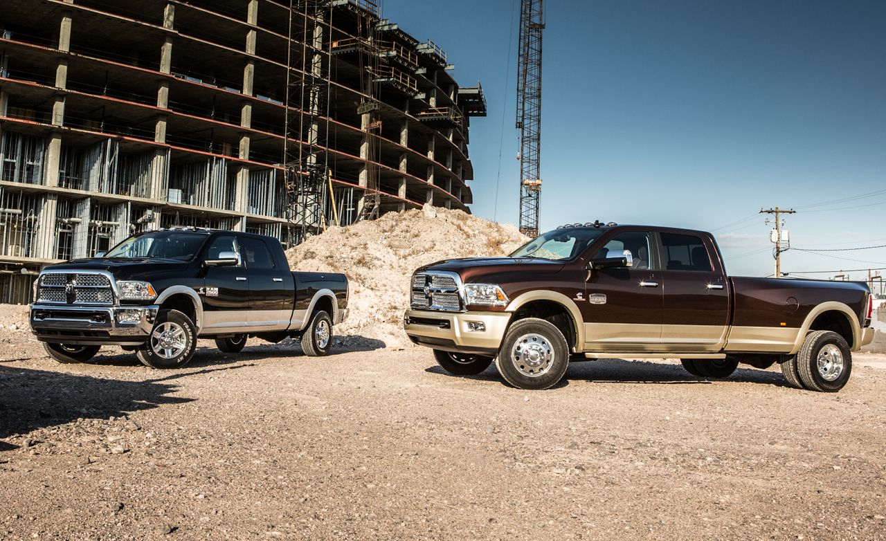 Dodge Ram Ecodiesel >> 2013 Ram 2500 / 3500 HD Pickup First Drive | Review | Car and Driver