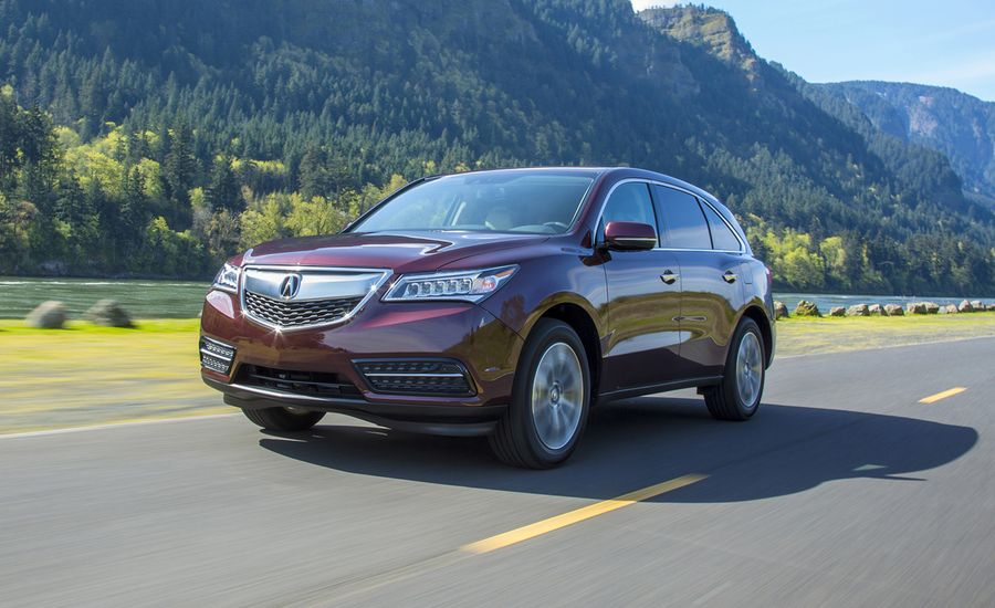 Acura MDX First Drive Review Car And Driver - Acura mdx review 2014
