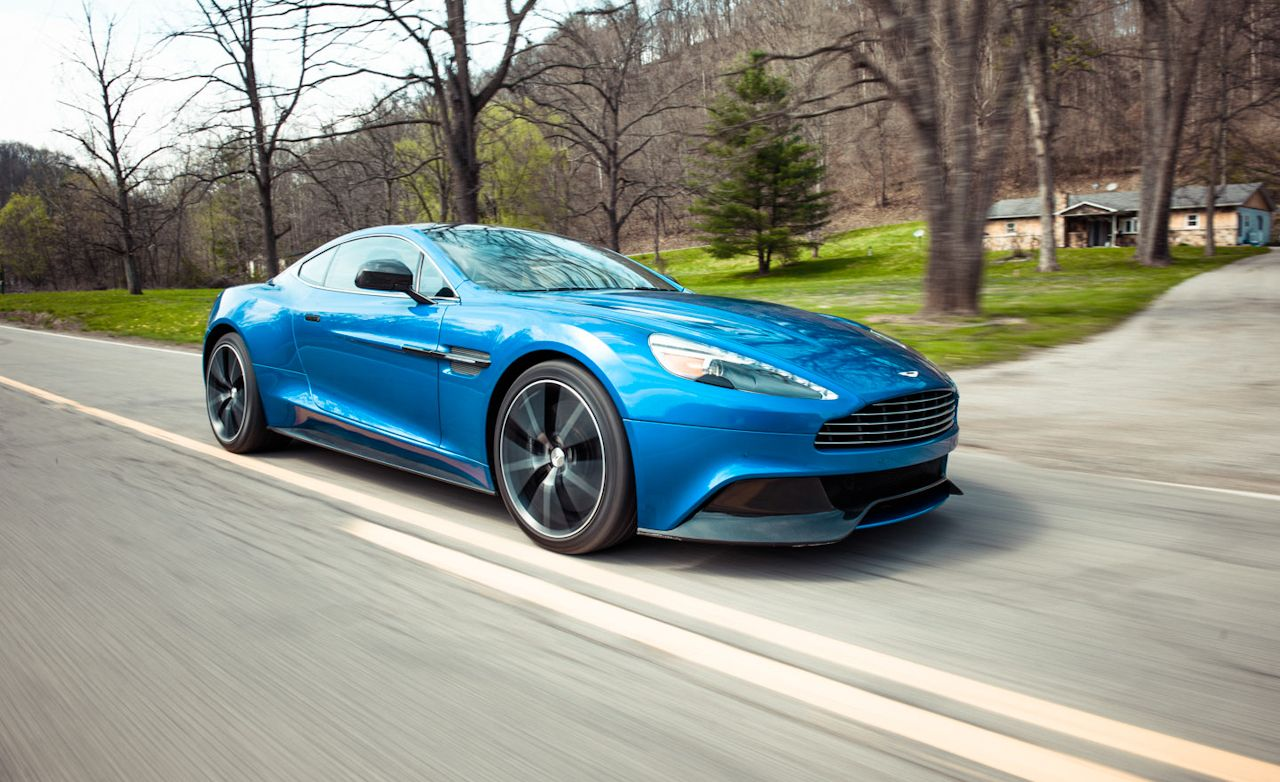 2014 aston martin vanquish road test – review – car and driver