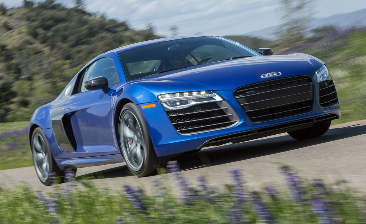 2014 Audi R8 V10 Plus Test  Review  Car and Driver