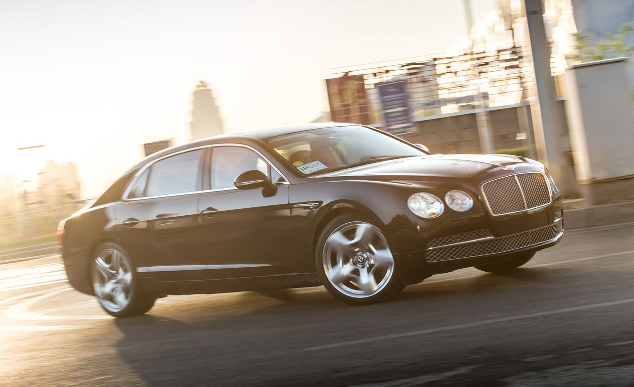 2014 bentley flying spur first drive review car and driver. Black Bedroom Furniture Sets. Home Design Ideas