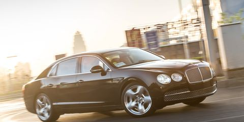 2014 bentley flying spur first drive – review – car and