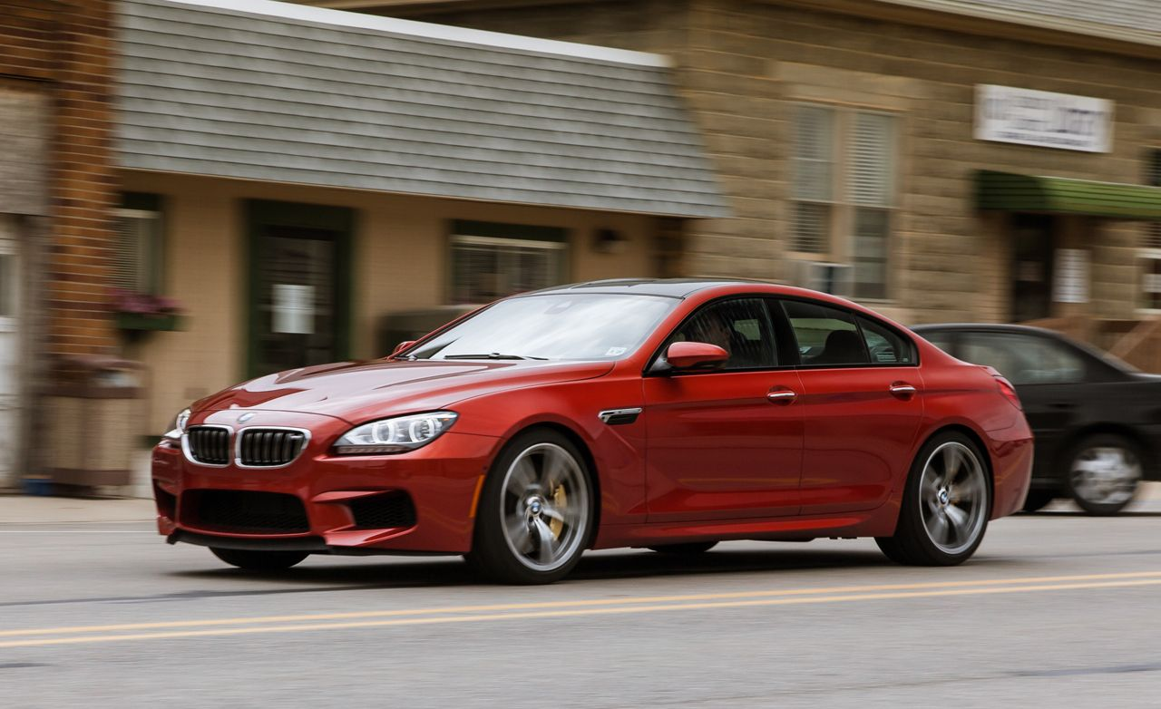 Bmw M6 Gran Coupe >> 2014 Bmw M6 Gran Coupe Test Review Car And Driver