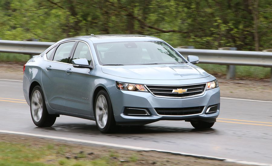2014 Chevrolet Impala 25 First Drive Review Car And Driver