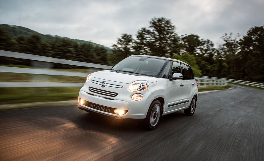 2014 fiat 500l first drive review car and driver. Black Bedroom Furniture Sets. Home Design Ideas