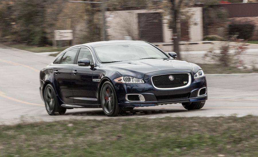 2014 Jaguar XJR L Instrumented Test | Review | Car and Driver  2014 Jaguar XJR...
