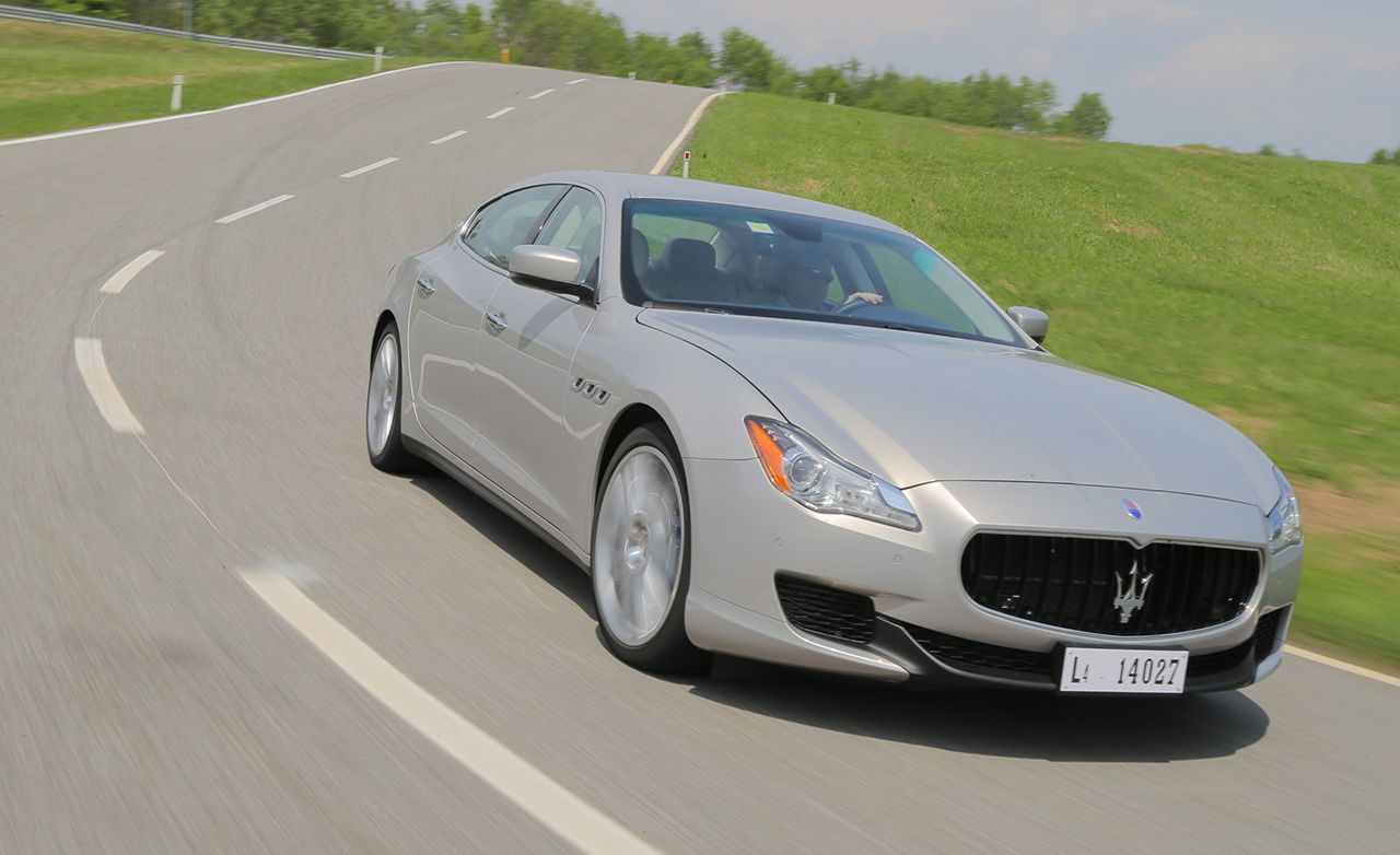 2014 maserati quattroporte s q4 first drive review car and driver. Black Bedroom Furniture Sets. Home Design Ideas