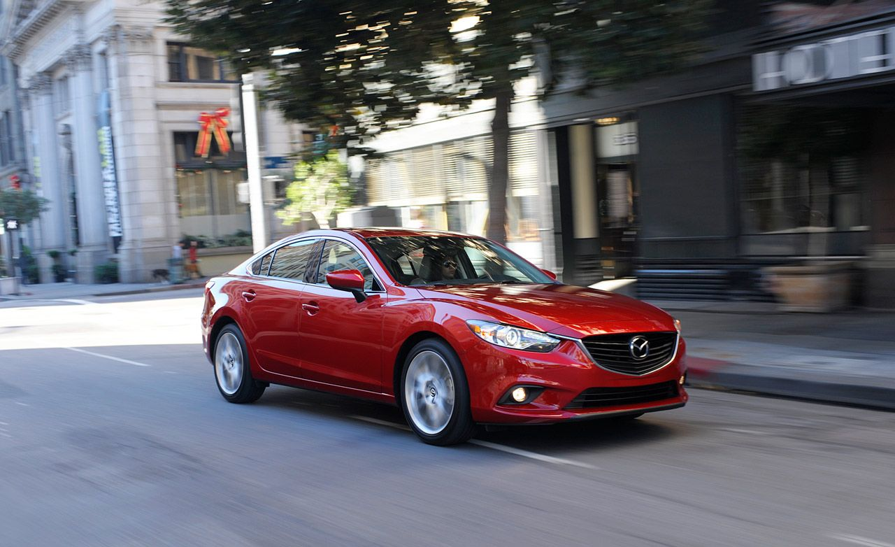 2014 mazda 6 i sport test review car and driver. Black Bedroom Furniture Sets. Home Design Ideas