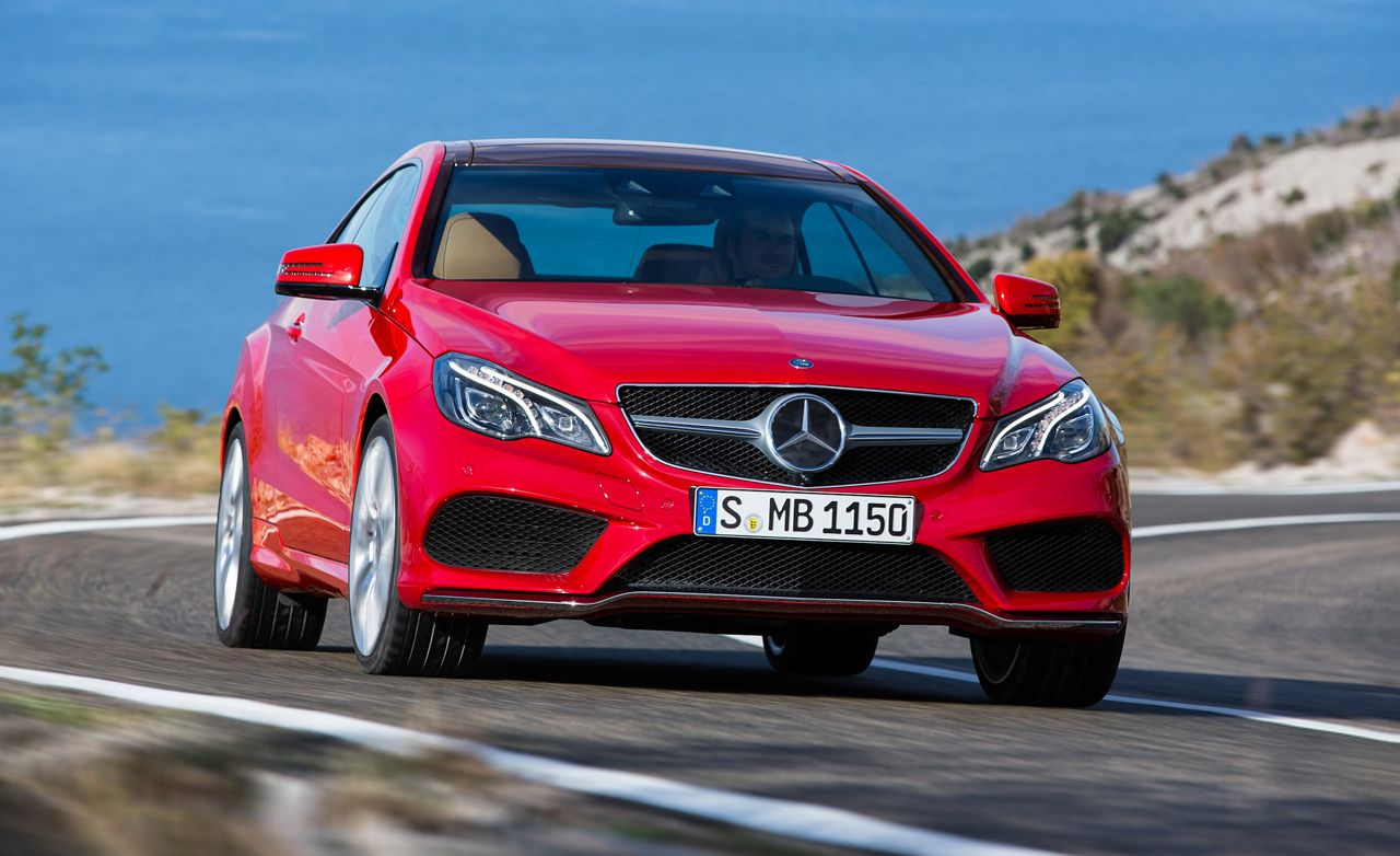 2014 Mercedes Benz E550 Coupe First Drive Review Car And Driver