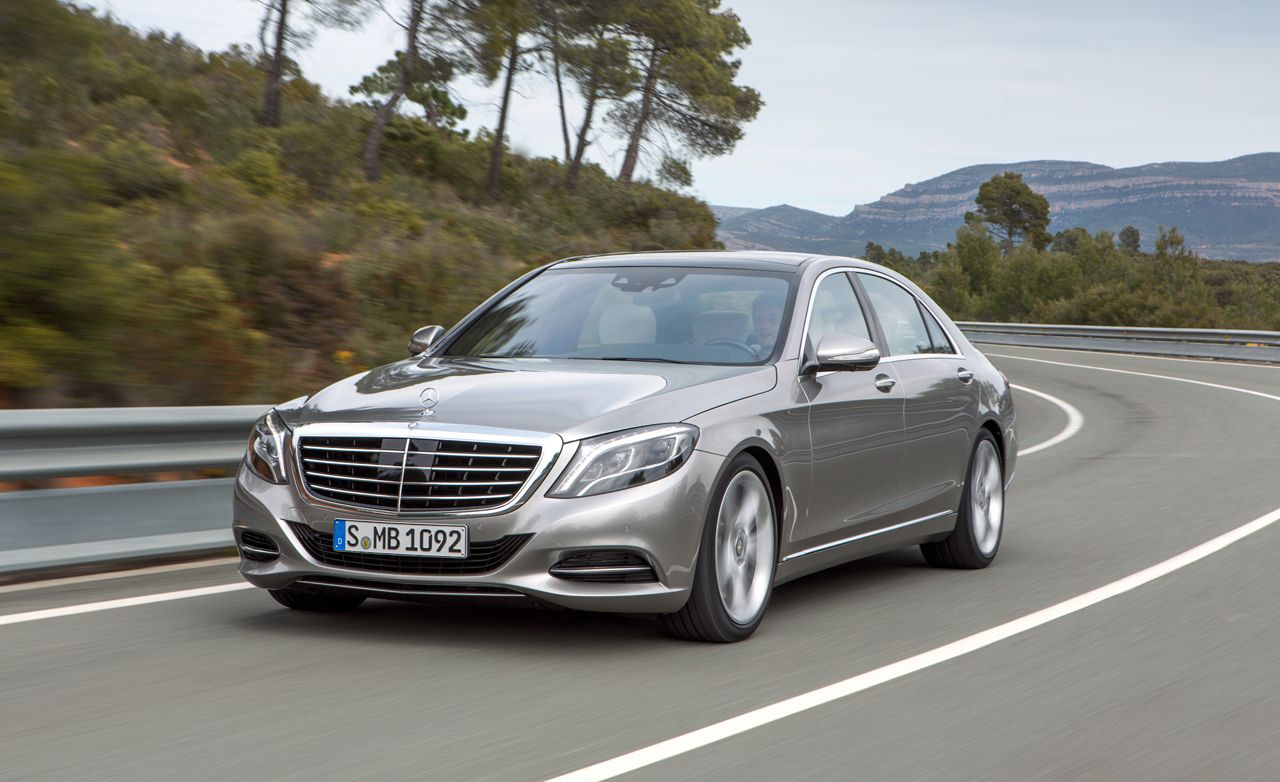 2014 Mercedes Benz S Class S550 First Drive Review