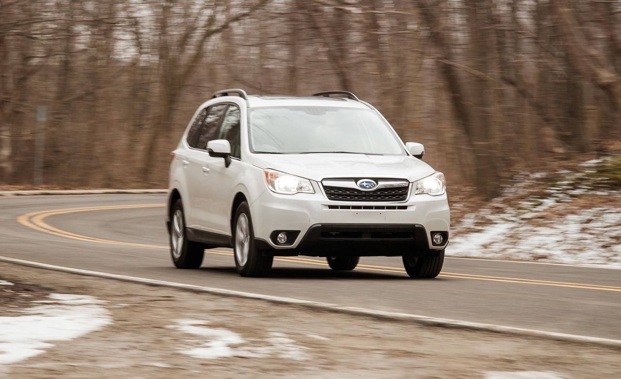2014 subaru forester 2.5i touring test – review – car and driver