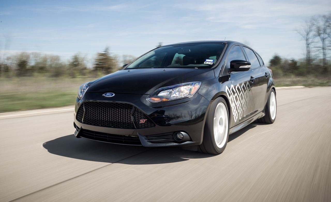 Cobb Ford Focus St Test Review Car And Driver