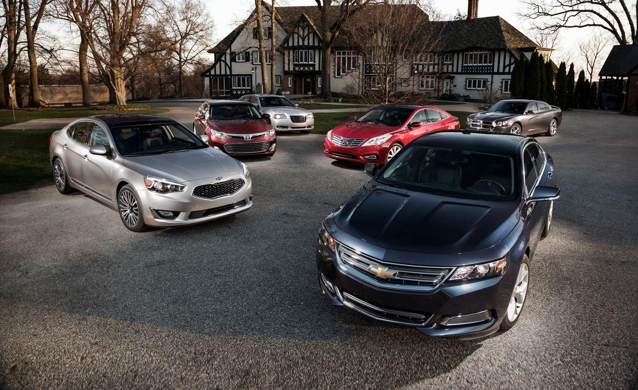 2014 Chevrolet Impala Lt Vs 2013 Chrysler 300s 2013 Dodge