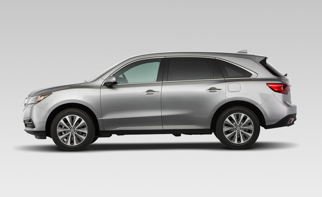 2019 Acura Mdx Reviews Price Photos And Specs Car Advanced Sports Concept Driver