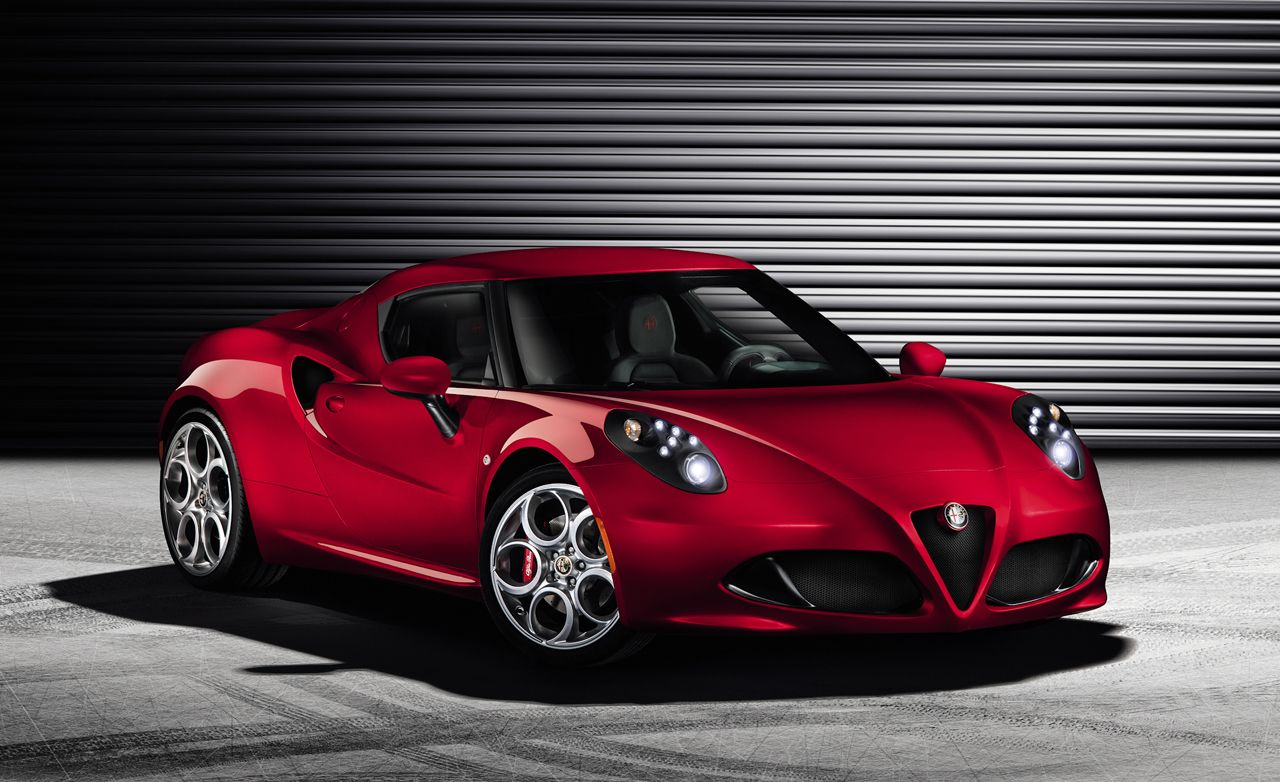 Alfa Romeo 4C Reviews  Alfa Romeo 4C Price Photos and Specs