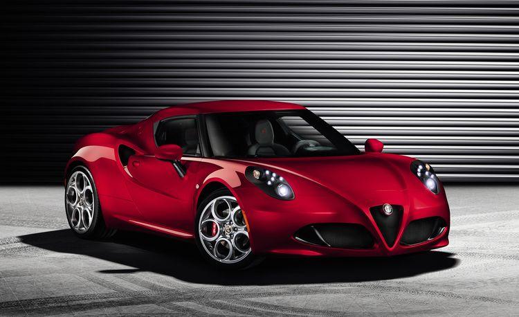 2014 Alfa Romeo 4C: The Alpha Car in Alfa's U.S. Relaunch