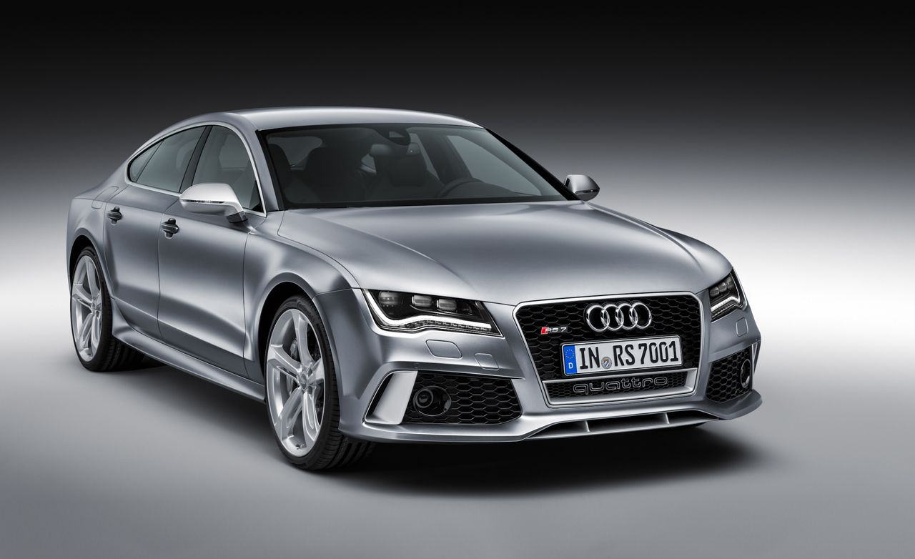 2014 Audi RS7: 560-hp Twin-Turbo V-8, Sizzling Styling