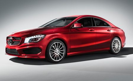 2014 Mercedes-Benz CLA-class: All Kinds of Turbo Fours, Sub-$30K Sticker