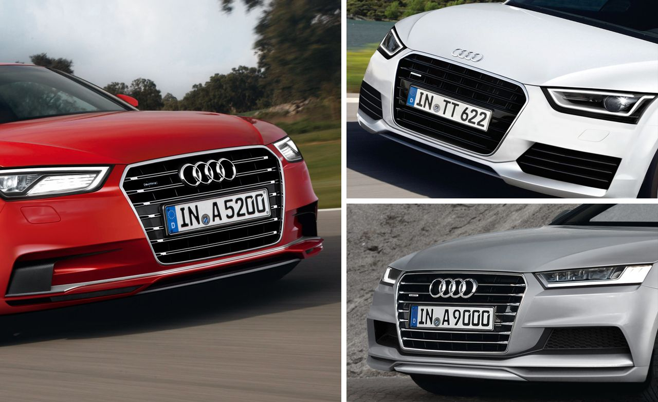 2015 Audi TT, 2016 Audi A5, 2018 Audi A9 Rendered, Detailed