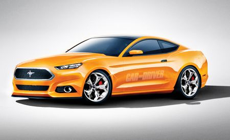 2015 Ford Mustang: Getting Sprayed Down with a Can of Retro-Be-Gone