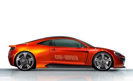 2016 McLaren P13: McLaren's Answer to the Porsche 911