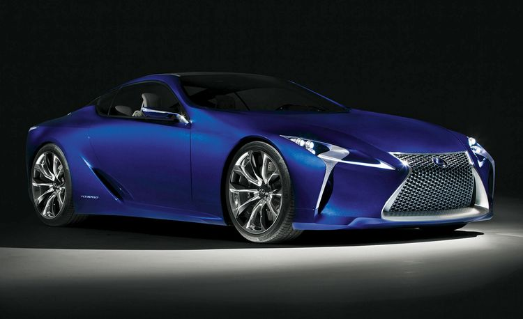 2017 Lexus LF-LC: A 500-hp (and Less Expensive) Follow-Up to the LFA