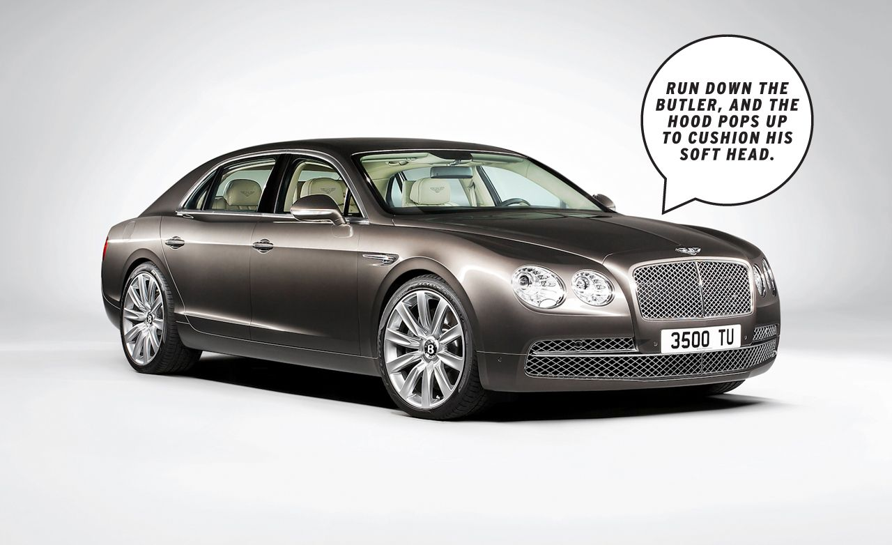 Dissected 2014 Bentley Flying Spur €� Feature Car And Driver