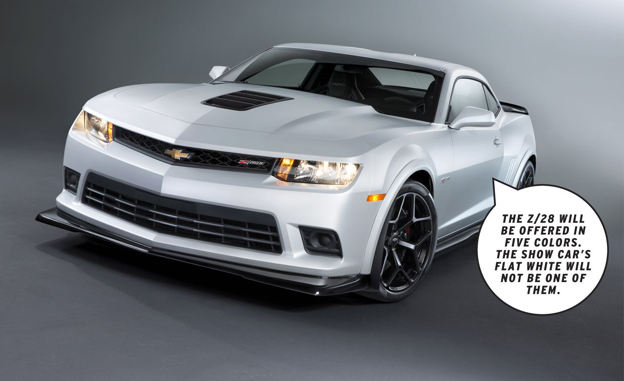Dissected: 2014 Chevrolet Camaro Z/28 – Feature – Car and Driver