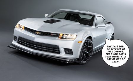 Dissected: 2014 Chevrolet Camaro Z/28