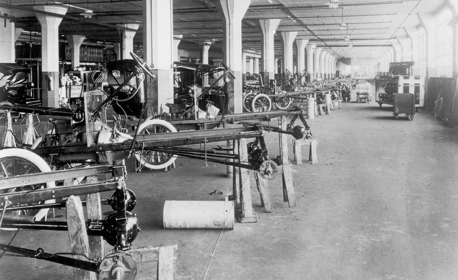 Fords Assembly Line Turns 100 How It Really Put The World On Wheels