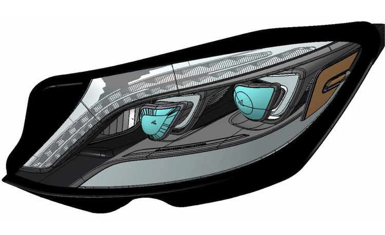 LED Zeppelin: The 2014 Mercedes-Benz S-class's Radical Lighting Scheme