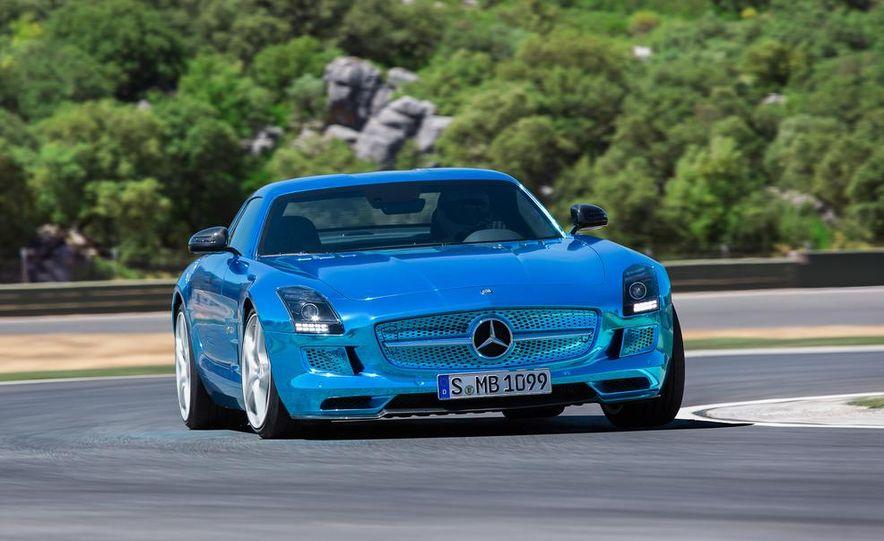 2014 Mercedes-Benz SLS AMG Electric Drive - Slide 2