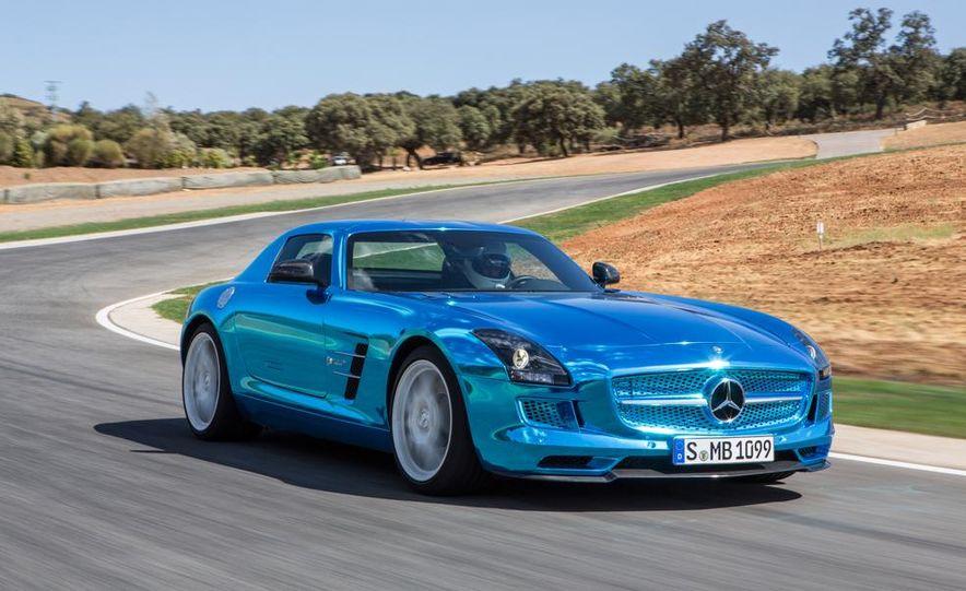 2014 Mercedes-Benz SLS AMG Electric Drive - Slide 3