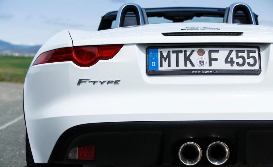 2014 Jaguar F-type V6 S roadster - Slide 53