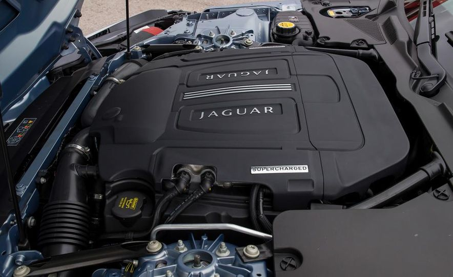 2014 Jaguar F-type V6 S roadster - Slide 39