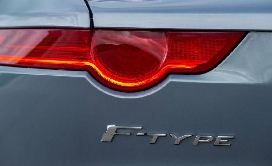 2014 Jaguar F-type V6 S roadster - Slide 31