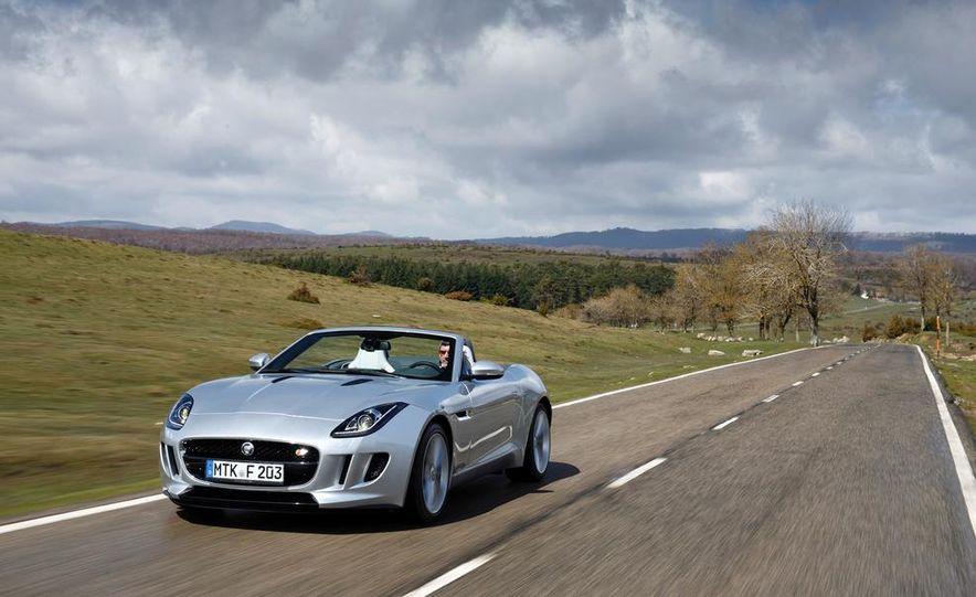 2014 Jaguar F-type V6 S roadster - Slide 59