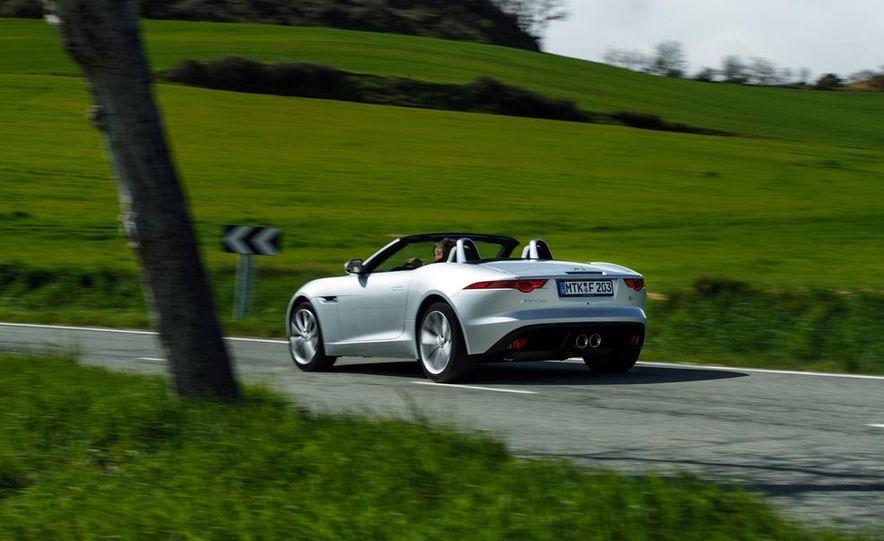 2014 Jaguar F-type V6 S roadster - Slide 64