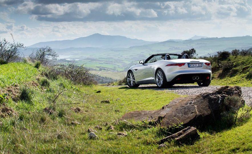 2014 Jaguar F-type V6 S roadster - Slide 68