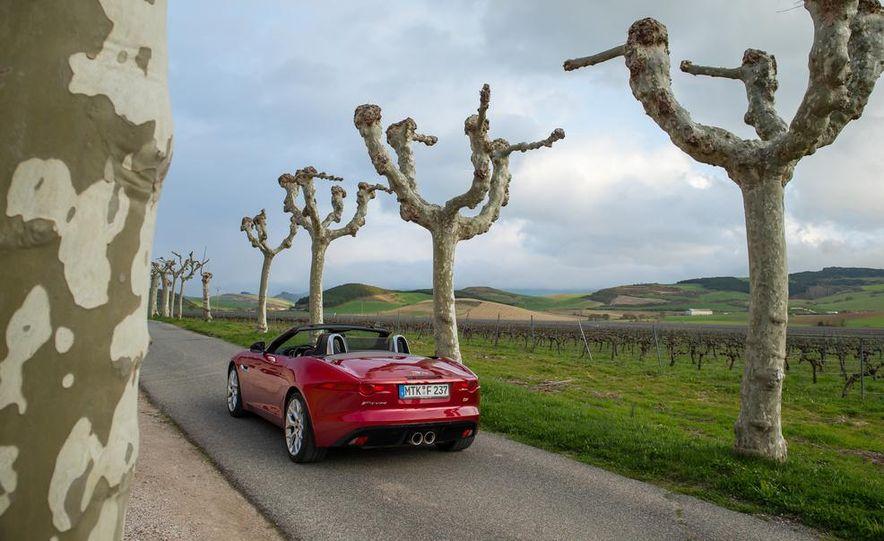 2014 Jaguar F-type V6 S roadster - Slide 81