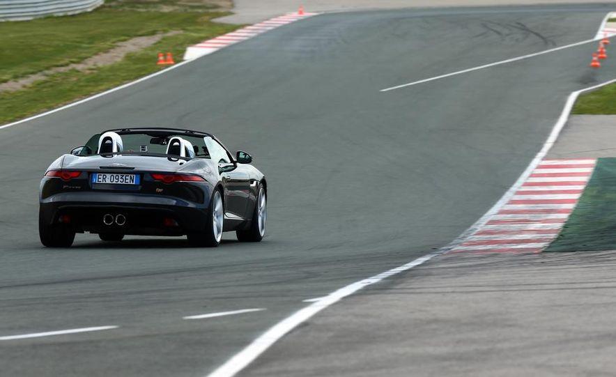 2014 Jaguar F-type V6 S roadster - Slide 13