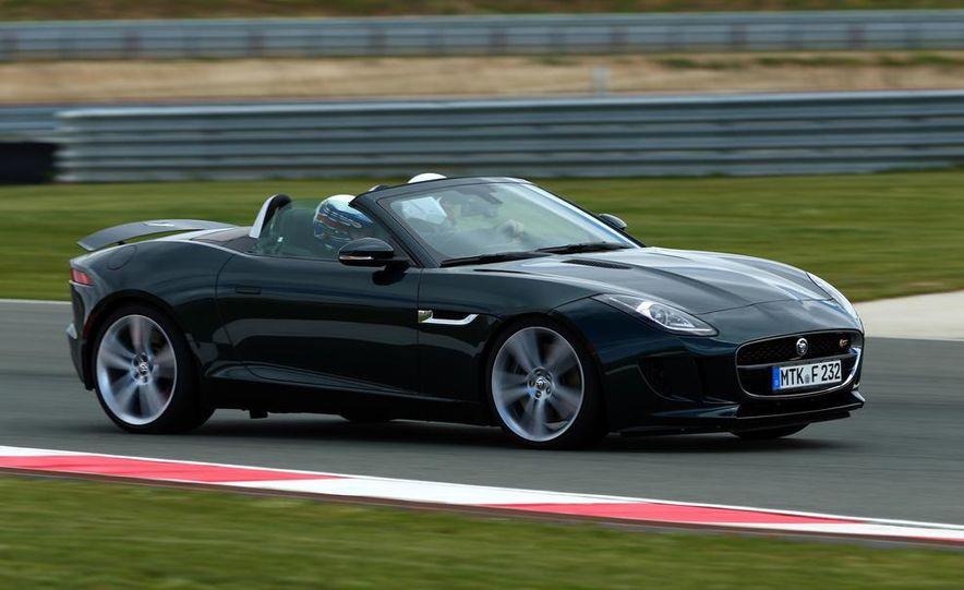 2014 Jaguar F-type V6 S roadster - Slide 14