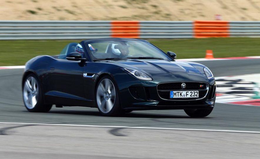 2014 Jaguar F-type V6 S roadster - Slide 18