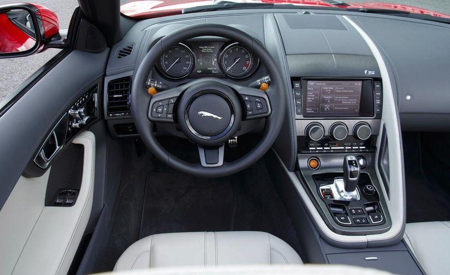 2014 Jaguar F-type V6 S roadster - Slide 100