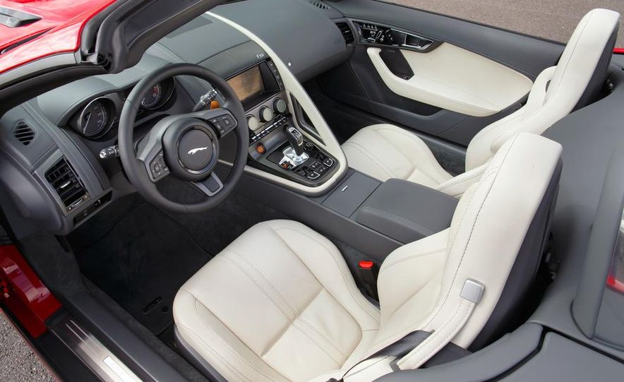 2014 Jaguar F-type V6 S roadster - Slide 101