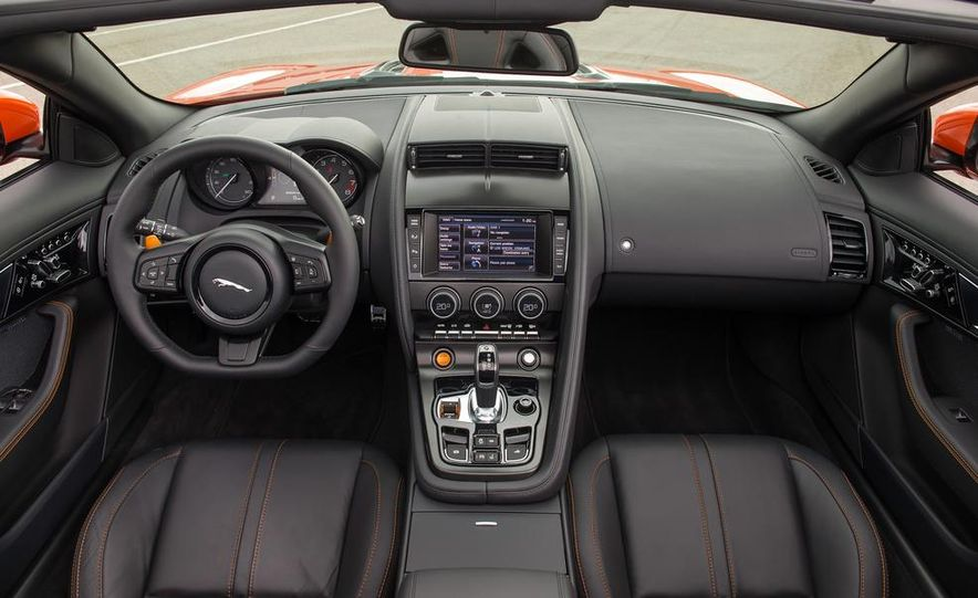 2014 Jaguar F-type V6 S roadster - Slide 116