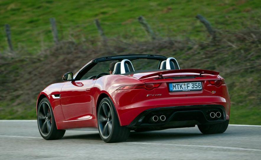 2014 Jaguar F-type V6 S roadster - Slide 93