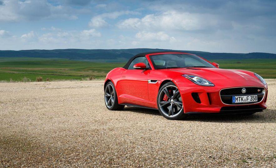 2014 Jaguar F-type V6 S roadster - Slide 95