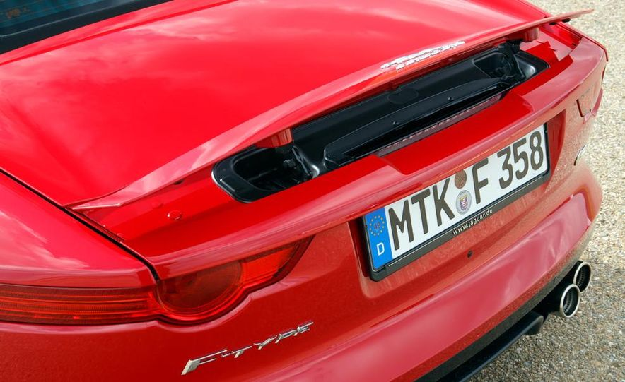 2014 Jaguar F-type V6 S roadster - Slide 99