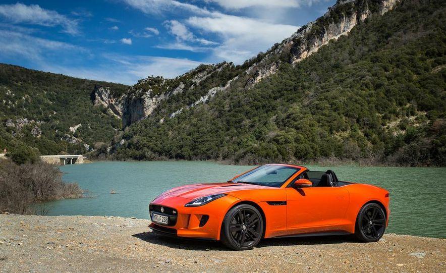 2014 Jaguar F-type V6 S roadster - Slide 107